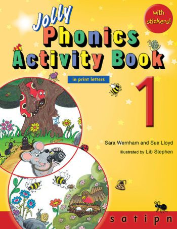 Jolly Phonics Activity Book 1 - In Print