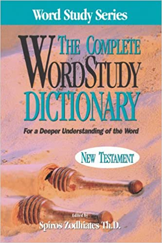 Word Study Dictionary
