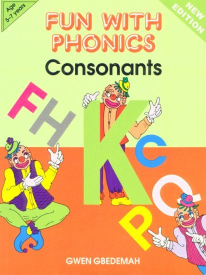 Fun With Phonics Consonants 2nd Edition