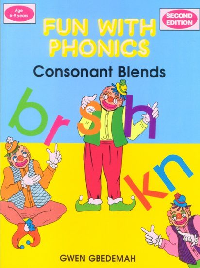 Fun With Phonics Consonant Blends 2nd Edition